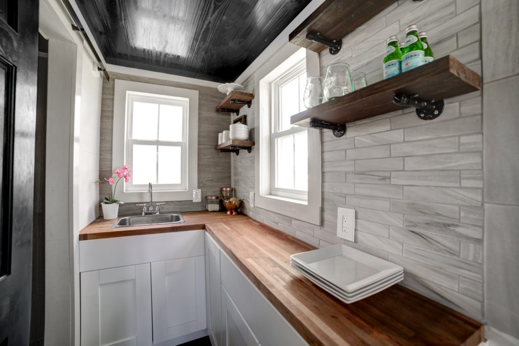 The Burg Tiny House - Kitchen - Tampa Bay Tiny Homes