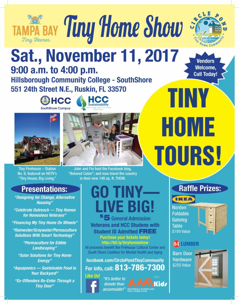 Tiny Home Show Ruskin Florida - Tampa Bay Tiny Homes