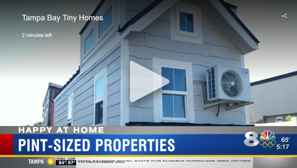 Tampa Bay Tiny Homes News Channel 8
